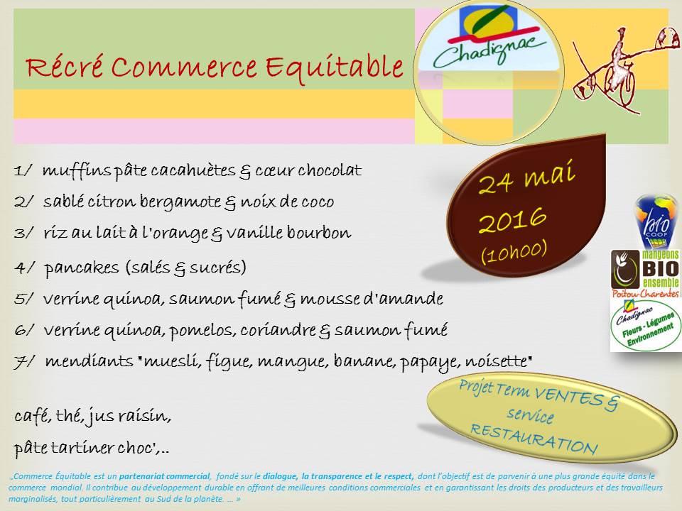 eef55b4082e3 Récré gourmande COMMERCE EQUITABLE – La Cantine de Chadi